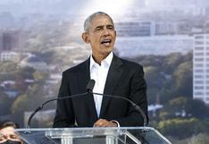 EE.UU.: Barack Obama pone la primera piedra de su centro presidencial en Chicago