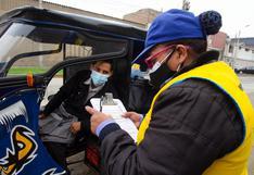 Multan a más de 1,300 conductores de mototaxis informales durante operativos en Cercado de Lima