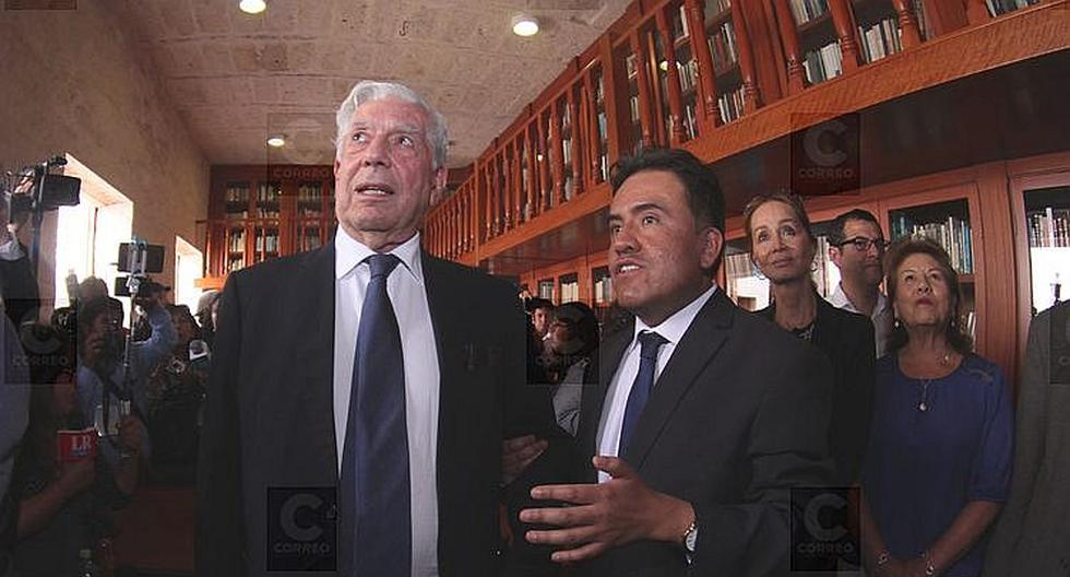 El protector de los libros de Mario Vargas Llosa termina su cargo a fin de año (FOTOS)