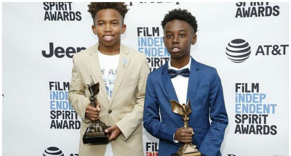 Moonlight: Niños actores fueron recibidos como héroes al regresar a su escuela [FOTOS]