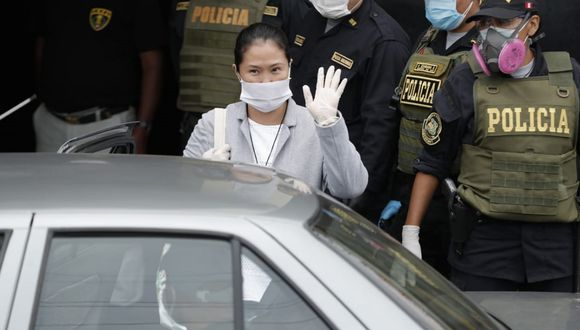 Keiko Fujimori (Foto: Renzo Salazar / GEC)