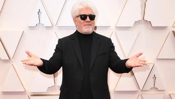 """Pedro Almodóvar consiguió ser finalista en los Oscar 2021 por su corto """"The Human Voice"""". (Foto: AFP/ROBYN BECK)"""