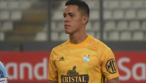 Renato Solís no viajará a Uruguay para el Sporting Cristal vs. Rentistas (Foto: Sporting Cristal)