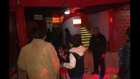 En Azángaro intervienen a 500 personas en los centros nocturnos