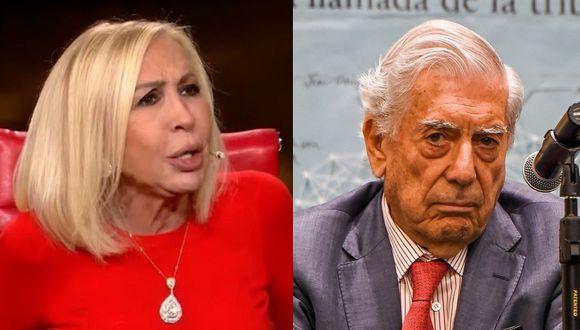 """Laura Bozzo sobre Mario Vargas Llosa: """"Es parte de la mafia de 'Los Cuellos Blancos'"""" (VIDEO)"""