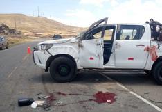 Chofer quedó herido en accidente de tránsito en Ayaviri