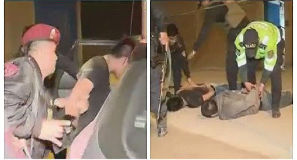Detienen a tres delincuentes que ingresaron a almacén y secuestraron a una familia