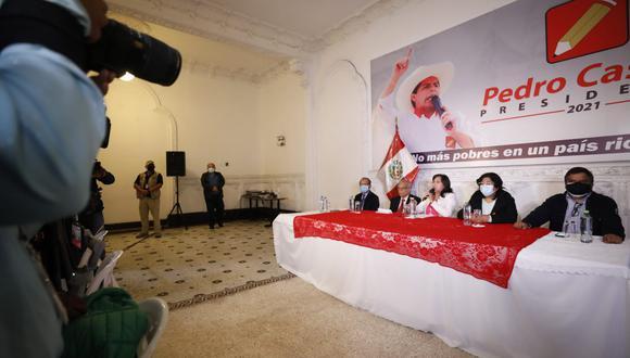 Perú Libre se pronuncia sobre pedido de nulidad de actas por Fuerza Popular. (Foto: César Bueno @photo.gec)