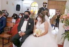 Policía irrumpe en matrimonio en Cusco y multa a cura y a novios (VIDEO)