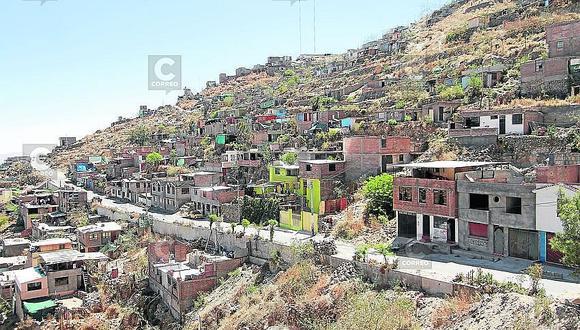 IGP recomienda no construir viviendas en zonas de alto riesgo