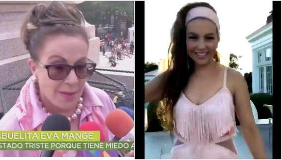 Laura Zapata en desacuerdo con el #ThalíaChallenge, el reto viral de su hermana (VIDEO)