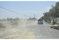 Realizarán mantenimiento de 16 vías en la región Libertad