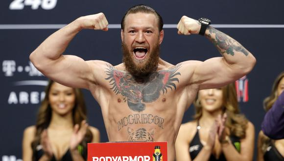 Conor McGregor peleó por última vez en UFC en enero del 2020. (Foto: AFP)