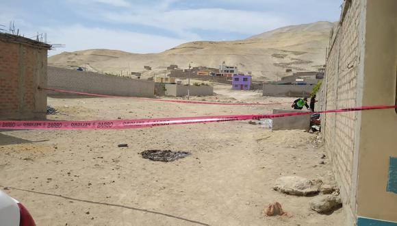 El cuerpo de la mujer hallada en Camaná es de una menor de 16 años  Foto: PNP