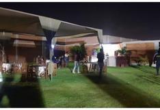 Trujillo: Ocho intervenidos en fiesta clandestina en pleno horario de toque de queda