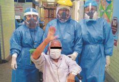 Chimbote: 24 personas son dadas de alta tras superar síntomas del COVID-19