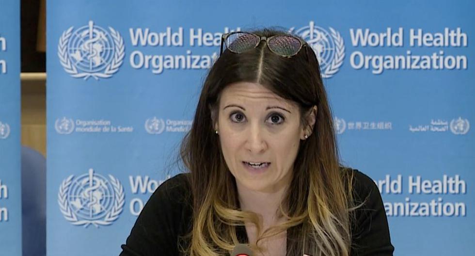 Maria Van Kerkhove, directora técnica de la Organización Mundial de la Salud (OMS) encargada de la pandemia de coronavirus. (AFP).