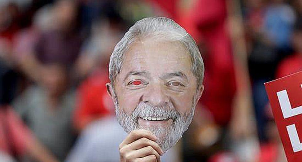 """Lula da Silva tras salir de la cárcel: """"Trabajaron para criminalizar a la izquierda"""" (FOTOS y VIDEO)"""