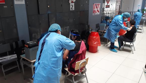 Tacna tiene 60% de población objetiva con dos dosis de vacuna.