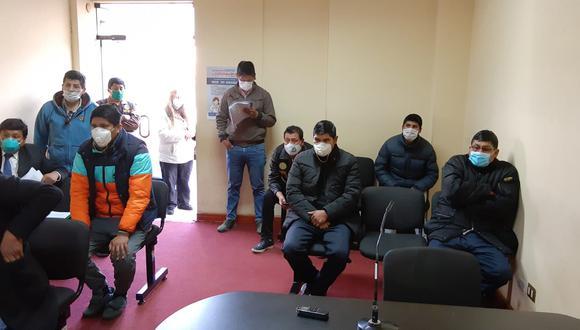 Puno. Agentes sindicados de robo a hermanos intervenidos serán internados en un centro penitenciario en las próximas horas. (Poder Judicial)