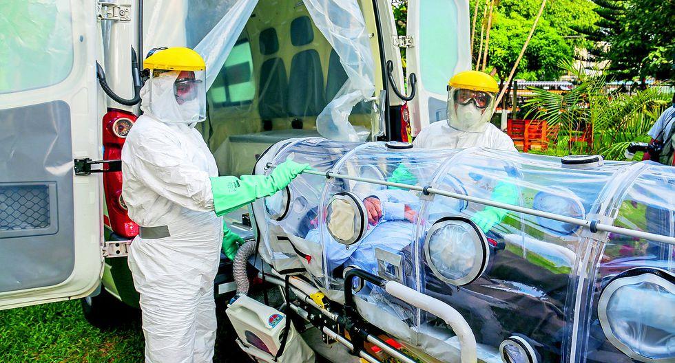 COVID-19: Dos muertos, 8 pacientes hospitalizados y tres usan ventiladores mecánicos