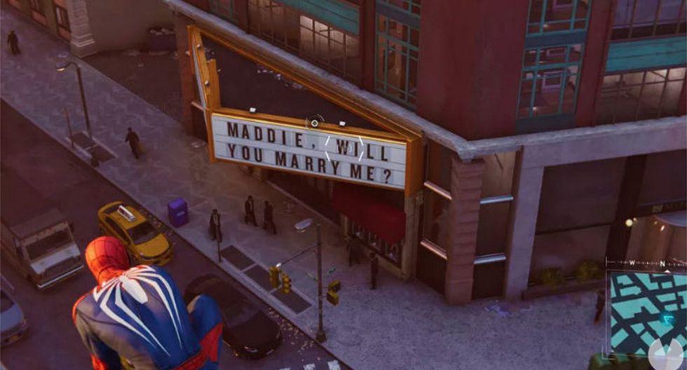 Pedida de mano en Marvel's Spider-Man esconde la historia más triste de los videojuegos