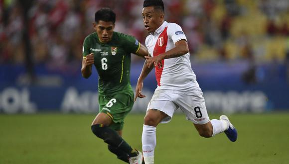 La selección de Perú le saca más de 75 millones de euros de ventaja en valor de mercado a la escuadra boliviana. ¿Esta diferencia se trasladará al marcador en La Paz? (Foto: AFP)