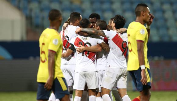 Perú vs. Colombia: chocan en Goiania por el Grupo B de la Copa América. (Foto: Jesus Saucedo / @photo.gec)