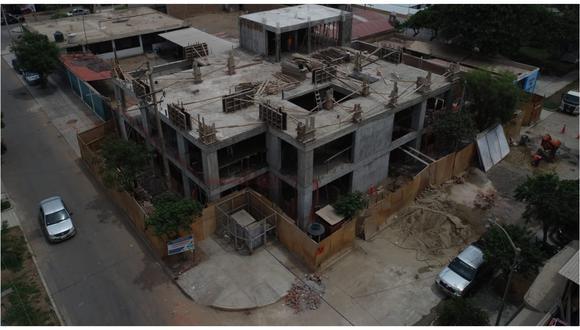 El alcalde de Trujillo, José Ruiz Vega, inspeccionó los trabajos y se ha previsto que la obra sea culminada el próximo mes. (Foto: Municipalidad Provincial de Trujillo)