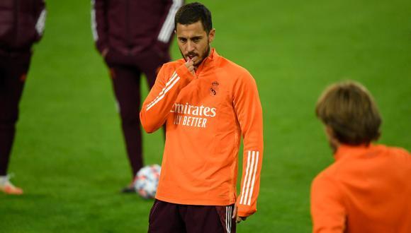 Eden Hazard fue descartado para el partido ante Valencia por LaLiga. (Foto: AFP)