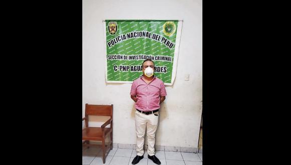 El extranjero confesó ante efectivos que en el interior de su mochila llevaba 21 fajos de dinero. (Foto: PNP)