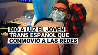 Conoce a Rubén Castro, el hombre trans embarazado en España cuya historia se volvió viral