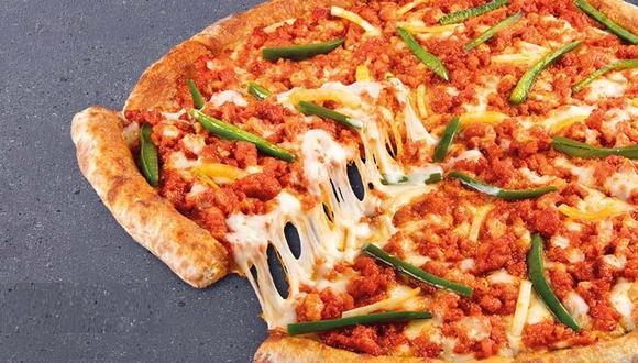 Las pizzas peruanas de edición limitada están disponibles para consumo en salón, delivery y Rappi. (Foto: Papa John's)