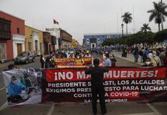 La Libertad: Llegan a Trujillo ministro de Transportes y viceministro de Salud Pública