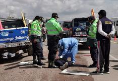 Atropellan y matan a joven en autopista Puno-Juliaca