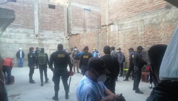 Huancavelica: 31 caen en bar clandestino que tenía fachada de chifa