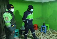 Intervienen a 70 personas en el interior de dos cantinas en Juliaca