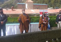 Presidente Francisco Sagasti no se compromete a traer más camas UCI a Huancavelica