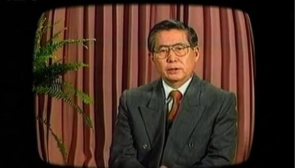 La justificación de Alberto Fujimori para dar el autogolpe de Estado (VIDEO)