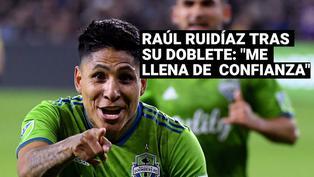 "Raúl Ruidíaz tras doblete con Sounders : ""Anotar dos goles me llena de confianza"""