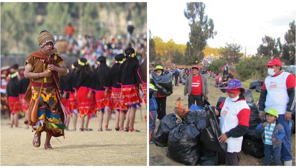 Inti Raymi generó 50 toneladas de basura en Sacsayhuamán