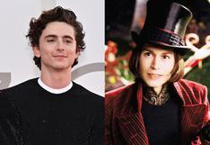 """Wonka"": Timothée Chalamet comparte sus primeras imágenes como Willy Wonka joven"