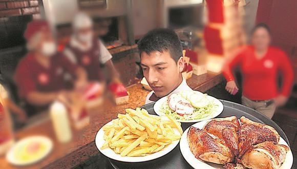 En Lima se come más pollo a la brasa