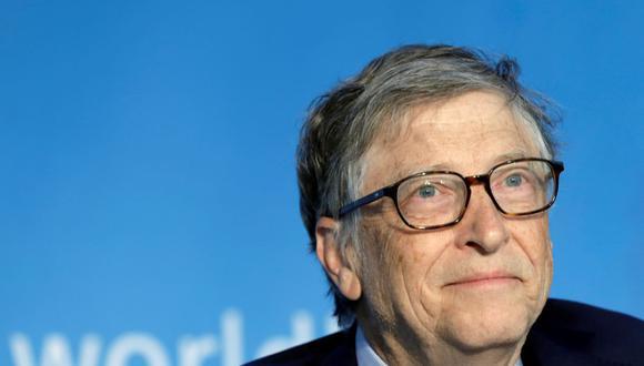 Imagen referencial. Bill Gates, copresidente de la Fundación Bill y Melinda Gates; asiste a una mesa redonda sobre la creación de capital humano durante la reunión de primavera del FMI y el Banco Mundial en Washington. (REUTERS/Yuri Gripas).