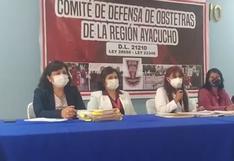 Gremio de obstetras del Hospital Regional de Ayacucho denuncian hostigamiento y discriminación y exigen respeto a su trabajo