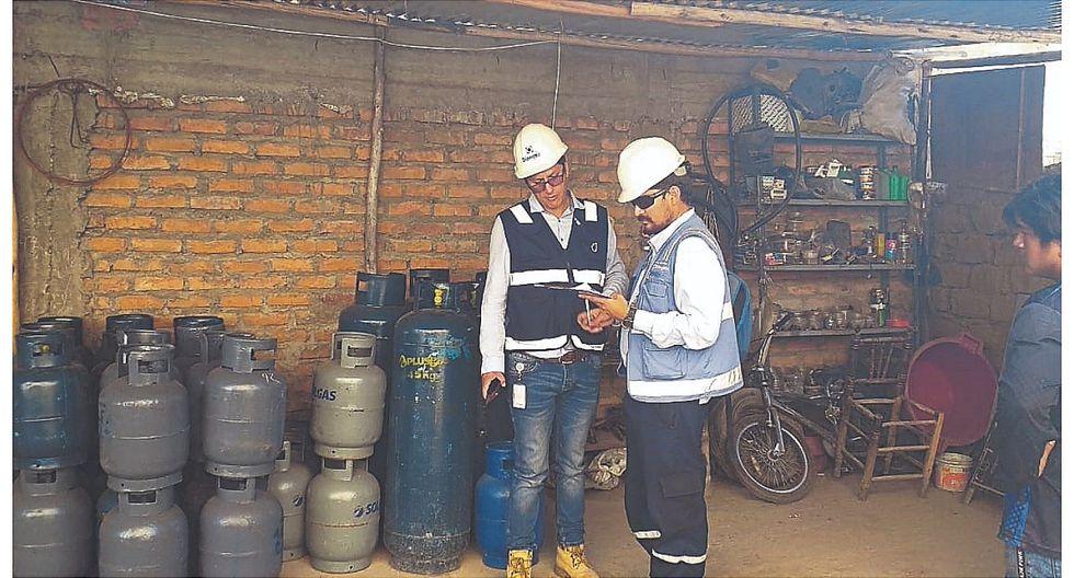 Osinergmin suspende cuatro locales de venta de balones de gas en Caraz y Yungay