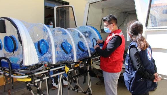 Apurímac: inauguran centro de atención para pacientes COVID-19 en Curahuasi (Foto: Diresa Apurímac)