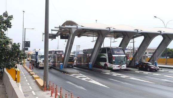 El peaje de Puente Piedra es administrado por Rutas de Lima. (Foto: GEC)