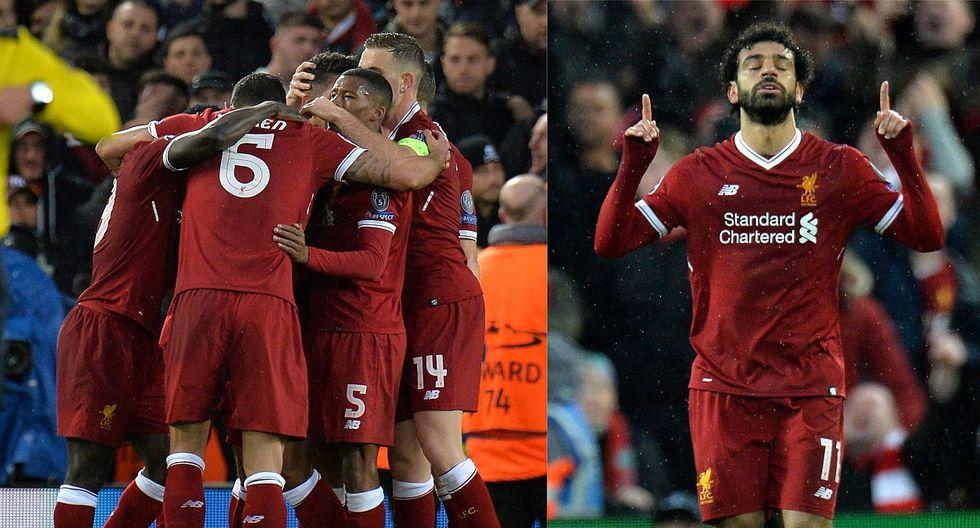 Champions League: Liverpool ganó 5-2 a la Roma en la ida de las semifinales (FOTOS)