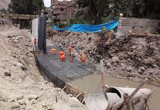 Detectan deficiencias en obra del río Sicra que pone en riesgo a población de Anchacclla, Lircay y Ocopa, en Huancavelica